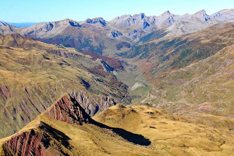 La vallée d'Aguas Tuertas