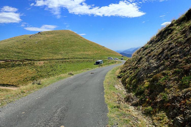 Passage au Col de Mehatze.