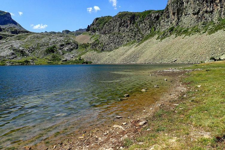 Une autre petite pause au Lac Roumassot.