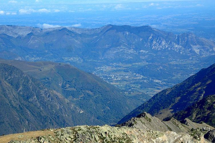 Le début du Val d'Azun.