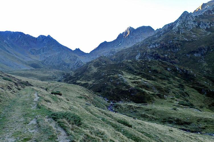 Le Val de L'Yse, ça monte gentiment...