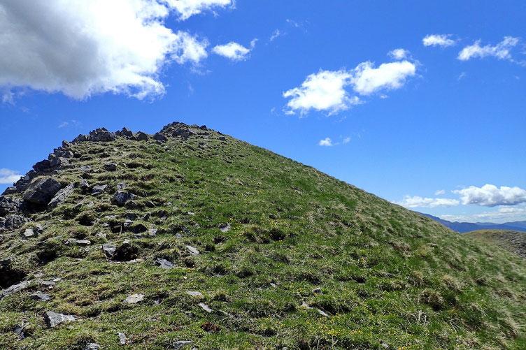 Le Pico de los tres Hombres est en vue.