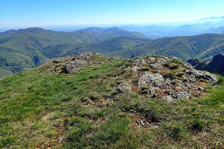 Le Pic Chardeca (1441m).