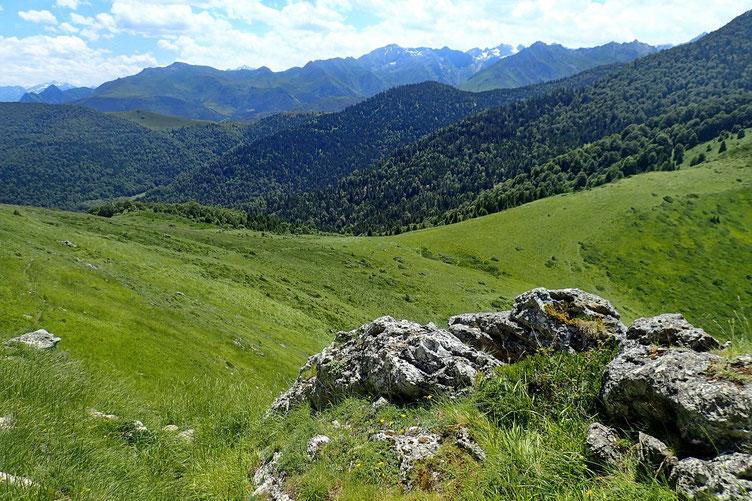 Le Col d'Ansan est en vue.