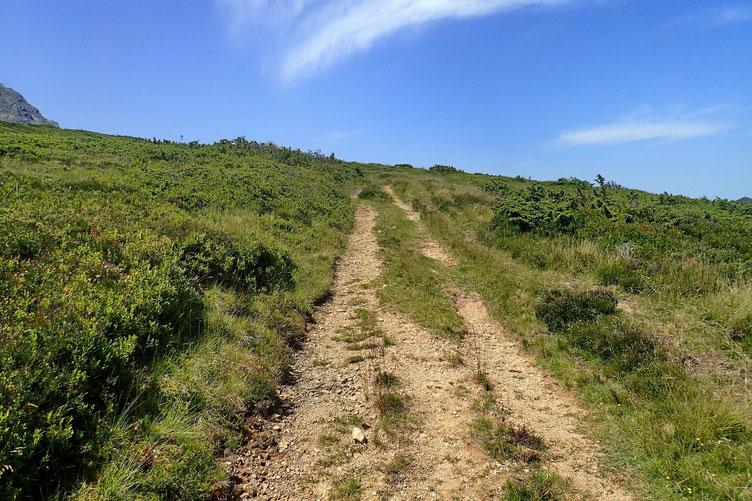 Enchainement avec la montée au Cap d'Aout.