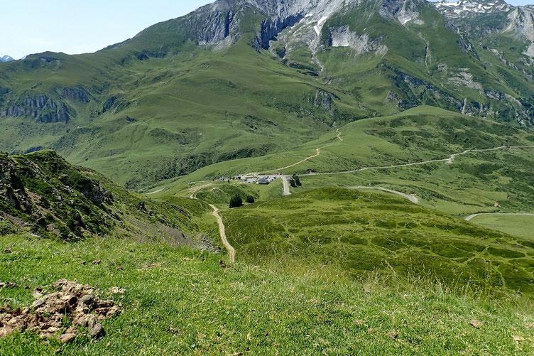 Vue sur le Col du Soulor.