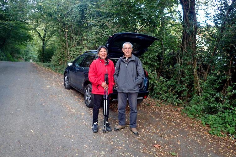 Rando faite avec Martine et Jean-Luc. Parking au bout du chemin de Ganixgaztebaita...