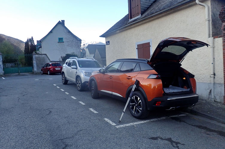 Parking à Gerde.