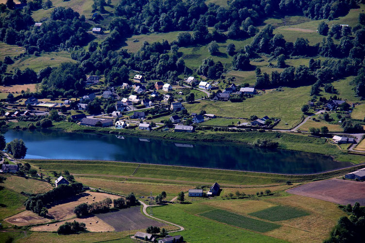 Le lac d'Arcizan.