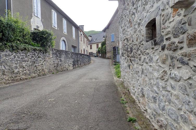 Les rues de Lescun.