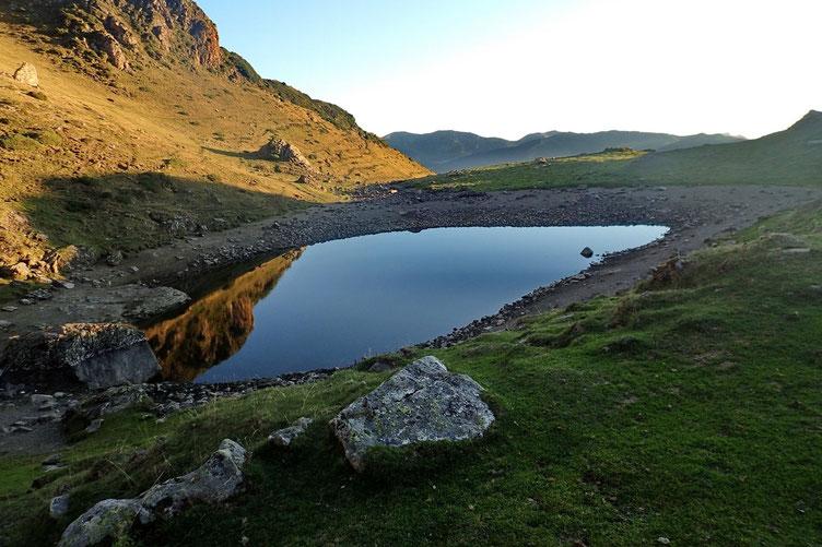 Le lac d'Arou.