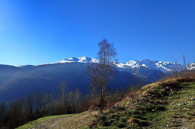 La vue commence a être superbe sur les monts pyrénéens.