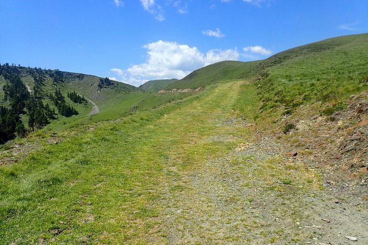 Comme à l'aller, je laisse de côté le Mont Méric (intérêt faible).