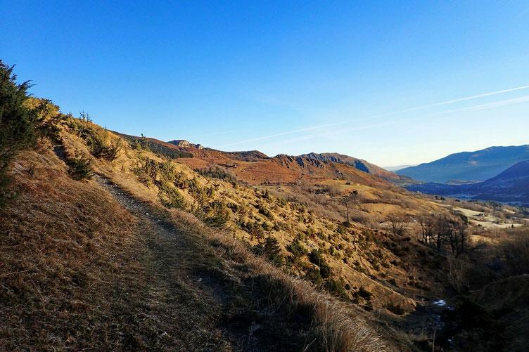 Le Val d'Azun au petit matin.