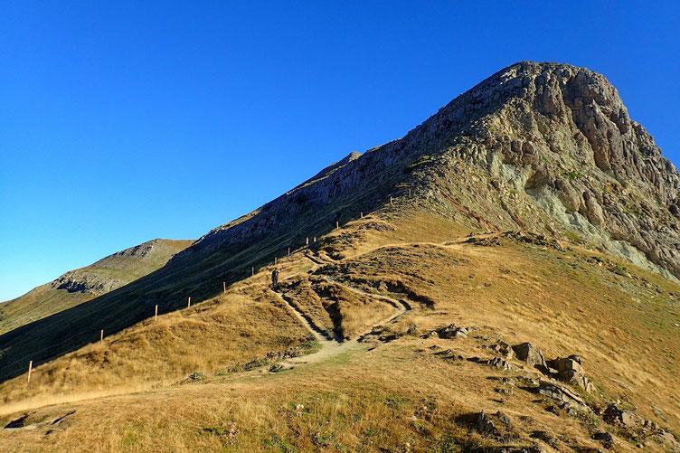 L'Orhy Chipia, avec un passage sur le flanc espagnol (Sud).