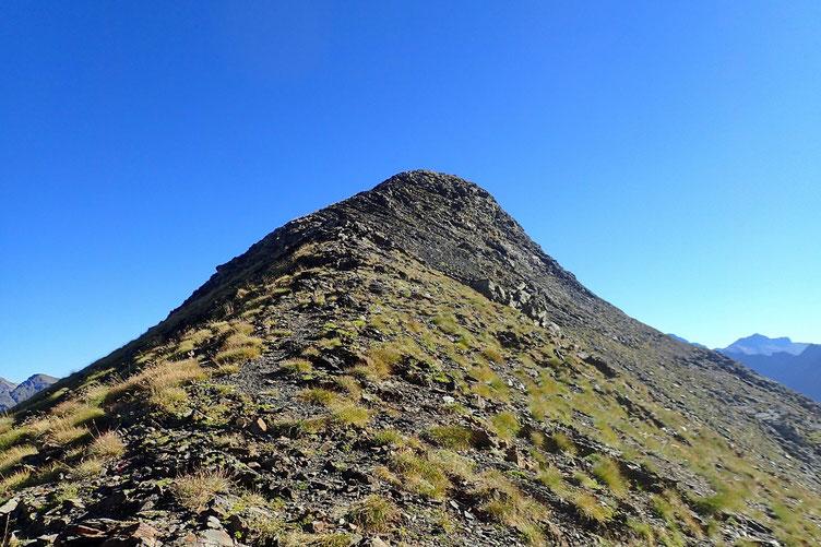 Le Pic St André est un peu plus modeste en altitude (2610m.)...