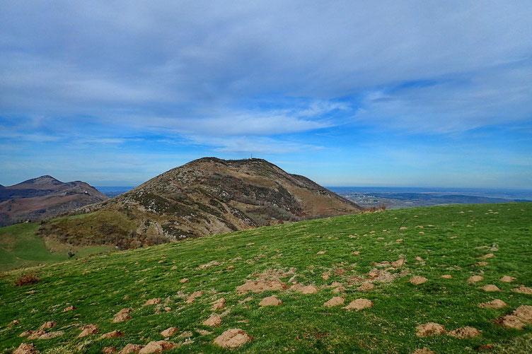 Le Pic du Jer, objectif d'une prochaine randonnée.