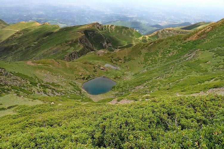 Les lacs de Montaigu.