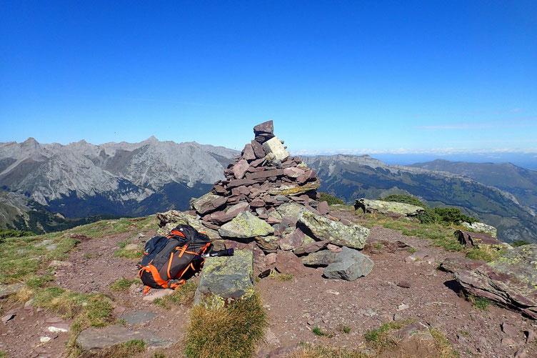 Arrivée au Pic de Labigouer (2175m).