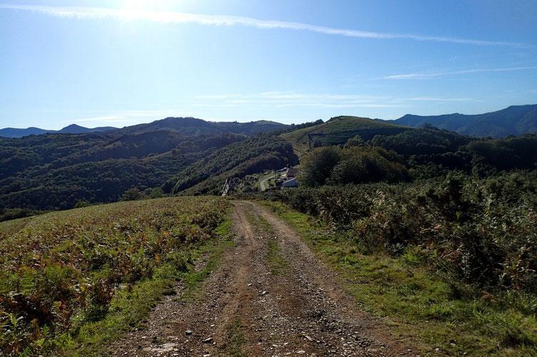 Le Col de Lizarrieta est en approche.