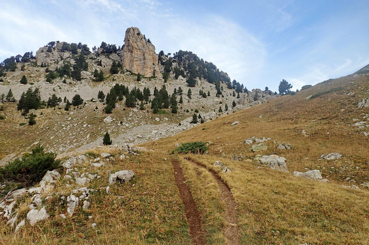 Le Pico Forato (2099m).