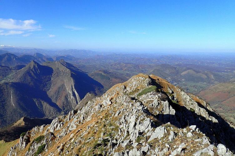 Vers les montagnes basques...
