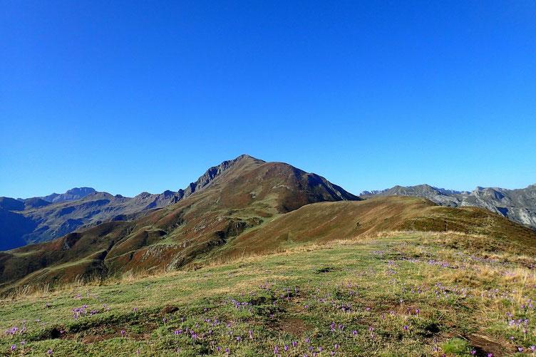 Au centre, le Pic de Labigouer est en vue.