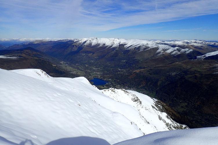 Superbe vue sur la Vallée du Louron.