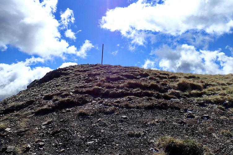 Sommet (Pico de las Tres Guegas) en vue...