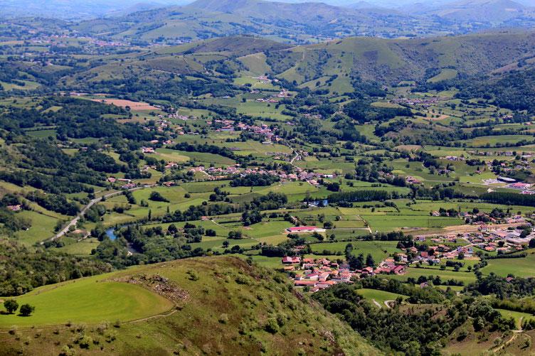 La vallée de la Nive.