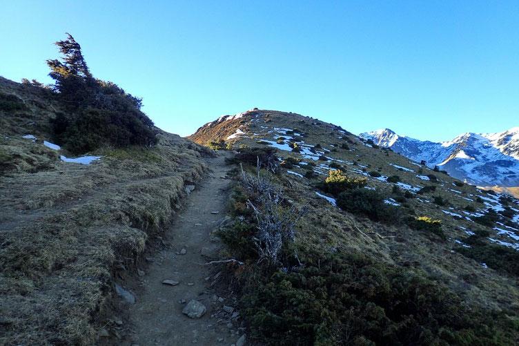 Le sommet n'est plus très loin.