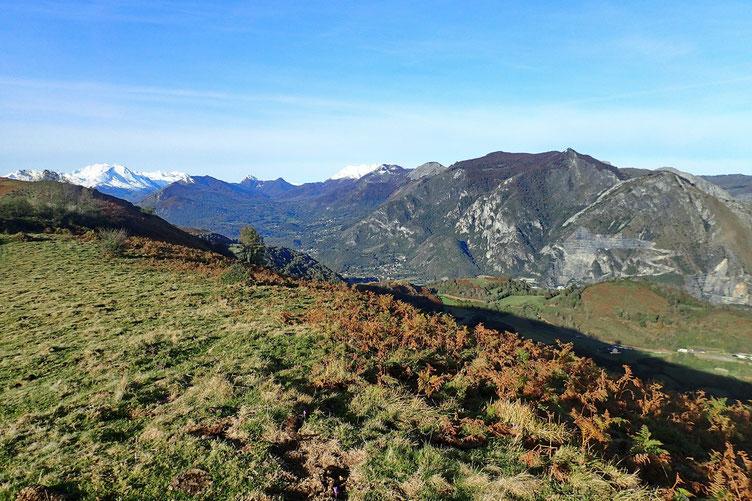 Le Pibeste et le Val du Bergons.