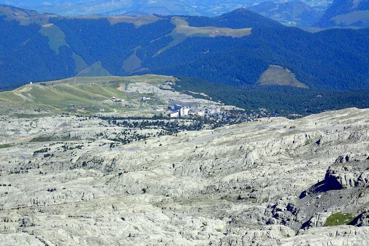 Zoom sur La Pierre Saint-Martin.