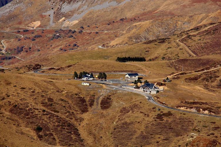 Zoom sur le Col du Soulor.