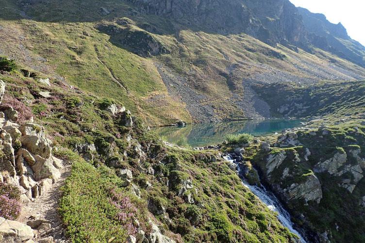 Le Lac d'Antarrouye.