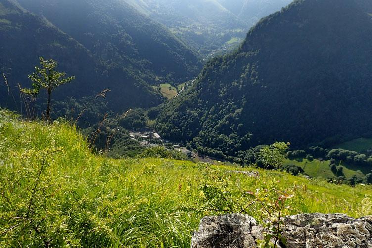 Vers la Vallée d'Aspe.