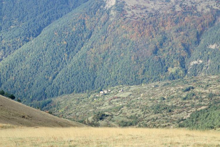 Le village abandonné d'Otal.