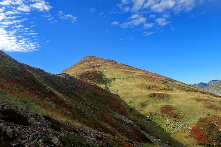 Et apercevoir le chemin restant à parcourir jusqu'au Pic de Labigouer.