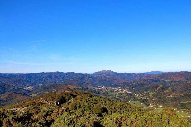 Panorama côté espagnol.