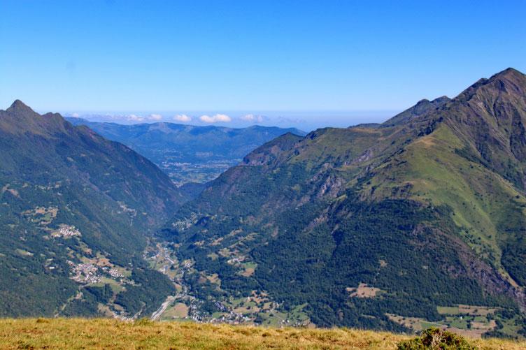 La vallée de Luz.