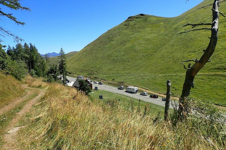 Le Col de Peyresourde.
