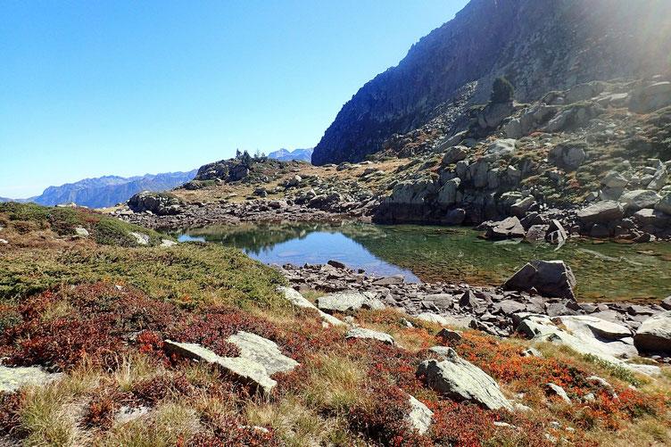 Après une bonne heure de pause, je remonte vers le Col de Cloze.
