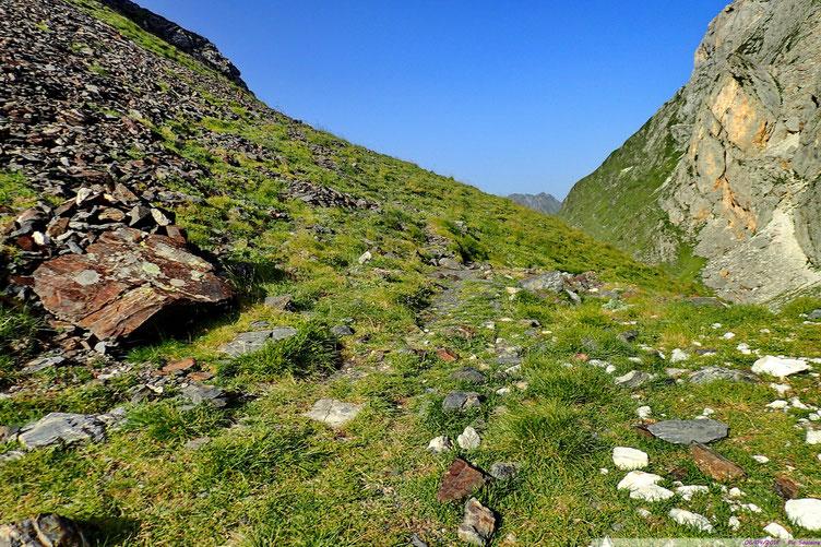 Le Col de Pourteillou.