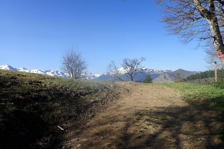 Belle vue sur les Pyrénées.