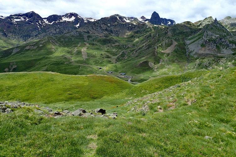 pour redescendre vers le Col du Pourtalet.