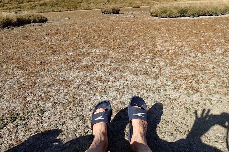 Rien de mieux qu'un petit bain de pieds ... mais sans eau!!!