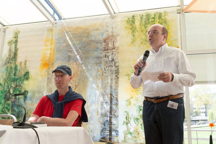Autor Joachim Zelter, Moderator Alexander Kluy