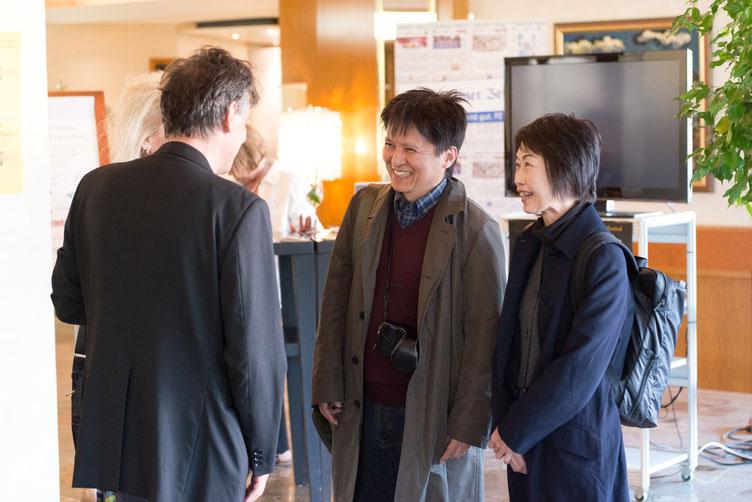 Takashi Hiraide bei Sprachsalz. Foto von Denis Mörgenthaler.