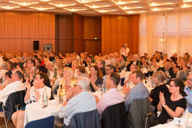 Der große Sprachsalz-Abend im CongressCenter. Foto: Denis Mörgenthaler