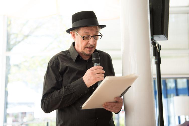 Mitorganisator Heinz D. Heisl